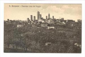 S. Gimignano , Italy , 00-10s : Panorama pisto dal Poggio
