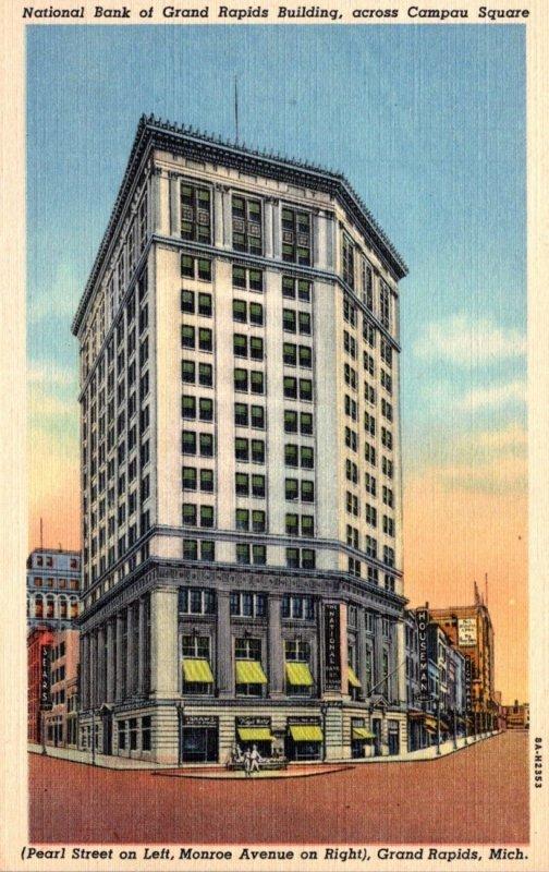 Michigan Grand Rapids National Bank Of Grand Rapids 1940 Curteich