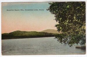 Moosehead Lake, Maine, Beautiful Squaw Mts.