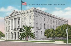 LAREDO, Texas, 30-40s; U.S. Post Office and Court House