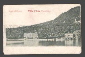 087231 ITALY Lago di Como Villa d'Este (Cernobbio) Vintage PC