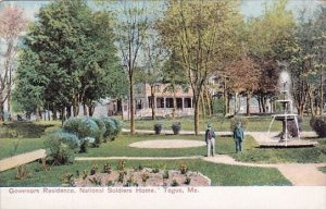 Governors Residence National Soldiers Home Togus Maine