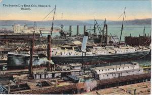 The Seattle Dry Dock Co.'s, Shipyard, SEATTLE,  Washington, 00-10s