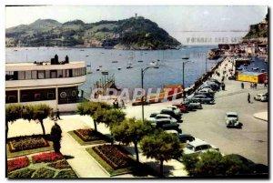 Postcard Modern San Sebastian Club Nautico Bahia Y