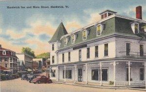 Vermont Hardwick Main Street and Hardwick Inn sk4964