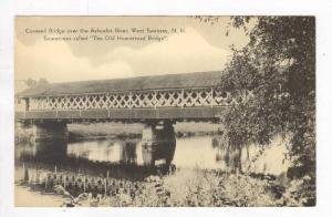 Covered Bridge, Ashuelot River, West swanzey, New Hampshire, 20-40s