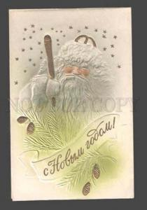085080 Grandfather FROST Embossed SANTA CLAUS old Russian PC