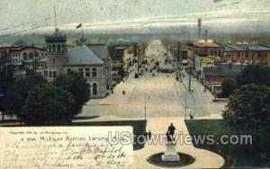Michigan Avenue  Lansing MI 1906