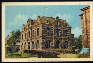 Prince Edward Island CHARLOTTETOWN Post Office - PECO White Border