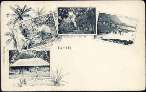 Tahiti, Tautira Papara Amuraamaa, Kanak Canaque, Multiview (ca. 1899)