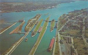 Michigan Sault Sainte Marie The Soo Locks
