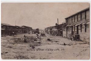 Street Scene, Camp Lee VA