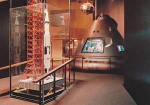 Model of Apollo Space Capsule &  Alouette Communications Satelite, Ontario Sc...