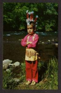 Little Carl Cherokee Indians QUALLA NORTH CAROLINA PC