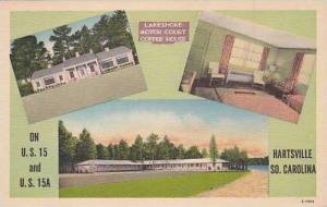 South Carolina Hartsville Lakeshore Motor Court & Coffee House