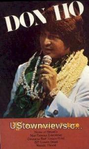 Don Ho, Polynesian Palace Waikiki HI Unused