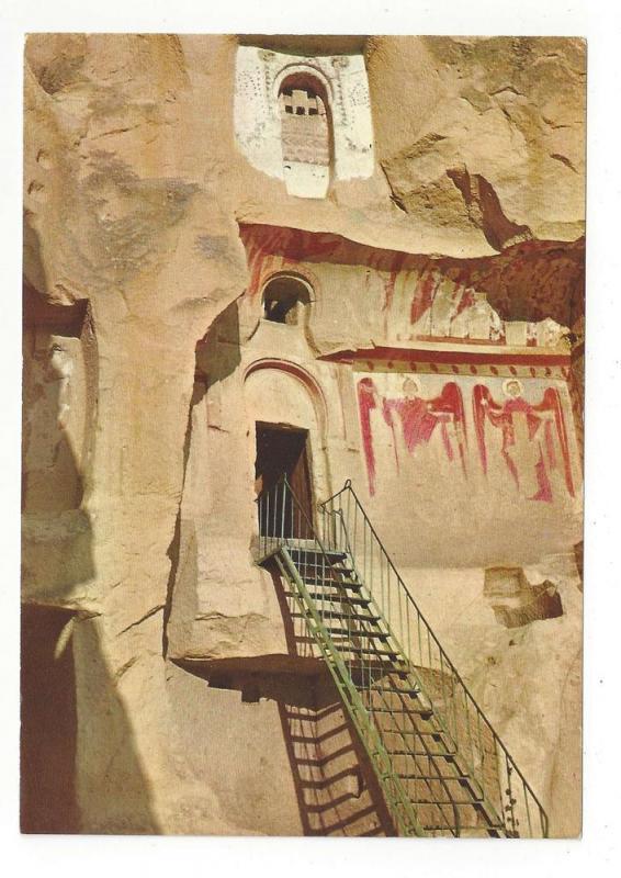 Turkey Avanos Carikli Kilise Church with Sandals Postcard