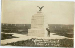 RP Soldiers Monument Harlowtown Montana MT