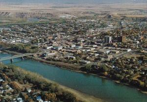 Canada South Saskatchewan River Medicine Hat Alta Alberta