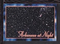 Arkansas at Night Postcard BIN