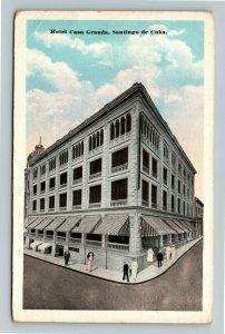 Hotel Casa Granda Santiago de Cuba Vintage Postcard