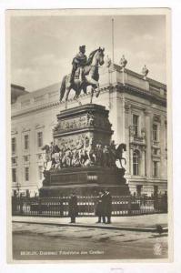 RP, Denkmal Friedrichs Des Grossen, Berlin, Germany, 1920-40s