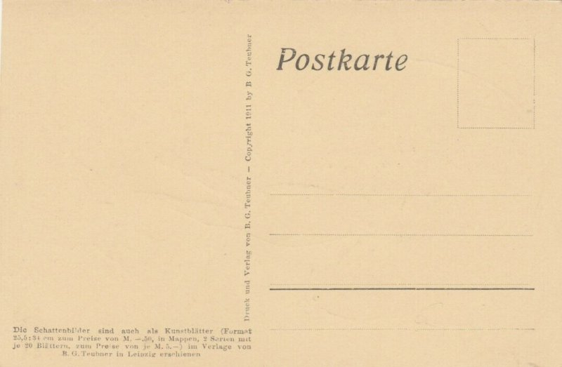 DIEFENBACH : Fantasy Silhouette , 00-10s ; Jugend I. Blatt 9