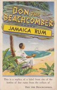 California Don The Beachcomber Brand Jamaica Rum