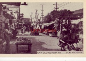GAY OLD OLVERA ST.... LOS ANGELES merchant and customers