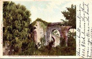 Florida Daytona Spanish Mission On The Halifax River 1909