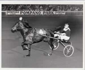 Pompano Park Harness Horse Race , Graduation Day wins , 1970-80s