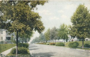 Selye Terrace from Lake Avenue, Rochester, New York - pm 1911 - DB