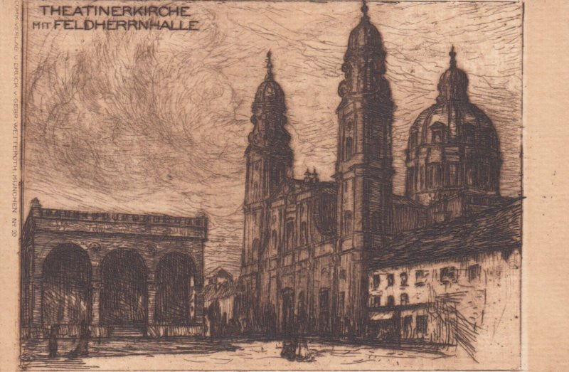 MUNCHEN , Germany , 1901-07 ; Theatinerkirche