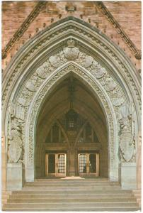 Canada, Main Entrance to Peace Tower and Houses of Parliament 1979 used Postcard