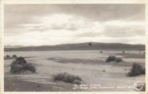 RP: A Dry Lake , California Desert , 30-40s ; FRASHERS