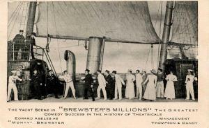 Brewster's Millions, The Yacht Scene