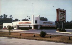 Hagerstown MD US 40 Tortuga Restaurant Old Postcard