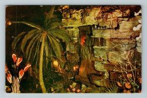 Los Angeles CA-California, Clifton's Pacific Seas Waterfall, Chrome Postcard