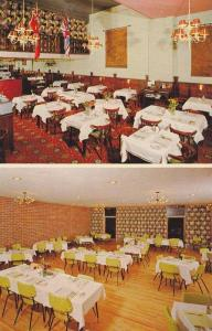 Interior , Purdy's Cafe & Dining Room , Vancouver , B.C. , Canada , 1950-60s