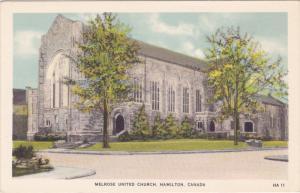 Melrose United Church, HAMILTON, Ontario, Canada, 1930-1940s