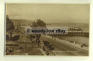 tp8277 - Scotland - The Esplanade, Pier and Coastline, at Dunoon - Postcard