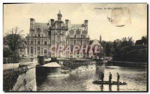 Old Postcard Château de Beaumesnil