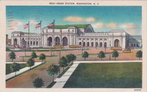 Washington DC Union Station1957