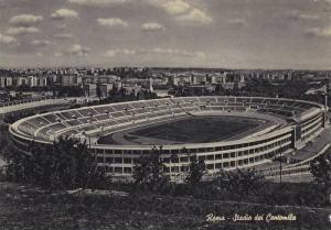 Soccer Stadium , Rome , Italy , PU-1957