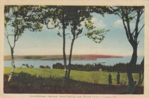 CHARLOTTETOWN , P.E.I. , Canada , 1930s ; Harbor from Fort La Jore