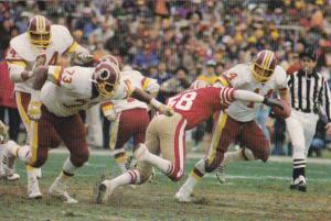Football John Riggins Washington Redskins