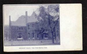 CT Dwight H Yale University NEW HAVEN CONN Postcard UDB Connecticut