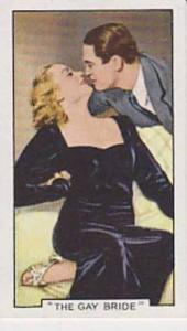 Gallaher Cigarette Cards Famous Film Scenes No. 8 The Gay Bride