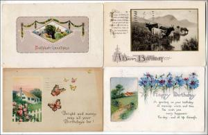 4 - Birthday Cards, Scenes