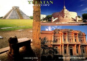 Mexico Greetings From Yucatan Multi View 1997
